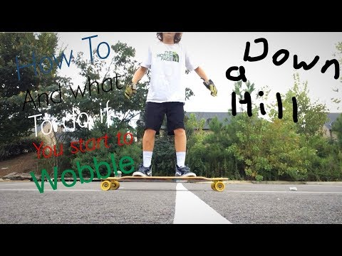 How to stop/What to do if you start to wobble on your longboard