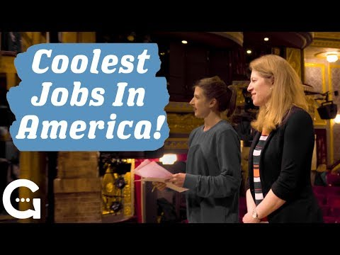 Coolest Jobs In America - Broadway Stage Manager (feat. Amber White )