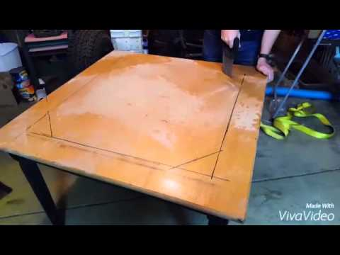 How to build a custom game table