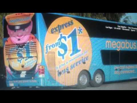 $1 dollar Megabus Scam and Review