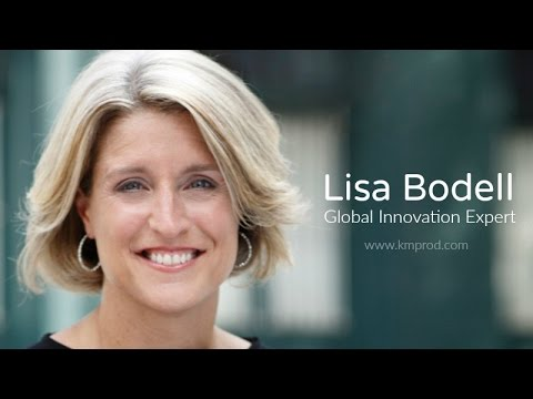 Lisa Bodell - If You Want a Better Answer, Ask a Better Question - www.kmprod.com
