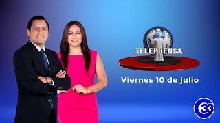 #TeleprensaMatinal | Viernes 10 de julio de 2020