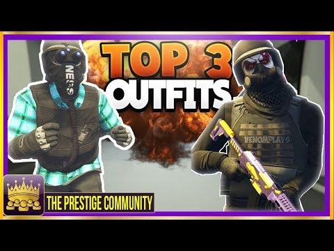 🔥LIT🔥 *Top 3* MODDED Outfits Using EASY Clothing Glitches 1 43! (GTA 5 TryHard/RnG Outfit Glitches