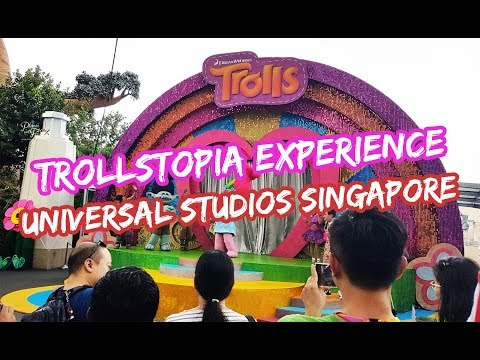 The TrollsTopia Experience in Universal Studios Singapore