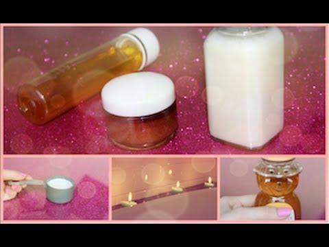 DIY Honey Bath! Bubble Bath, Body Scrub, and Hair Treatment!