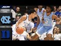 NORTH CAROLINA VS. DUKE CONDENSED GAME  2018-19 ACC BASKETBALL