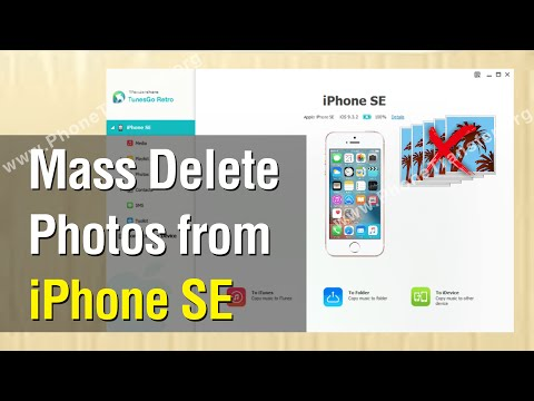 How to Mass Delete Photos from iPhone SE Easily