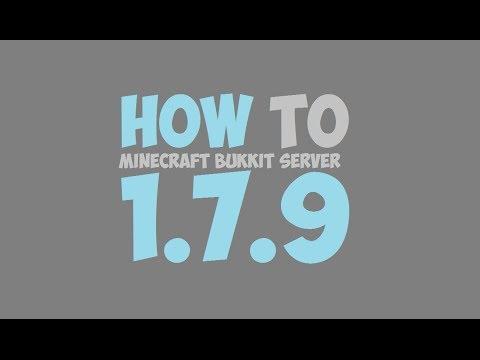 How To Make A Minecraft Bukkit Server 1.7.10
