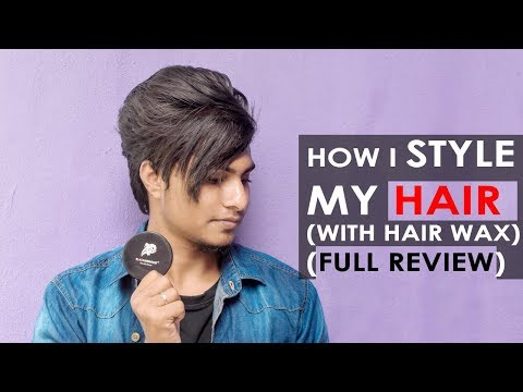 Mens New Hair Style Tutorial By Using Hair Wax  2018||TAMIL|| Indian Men Hairstyle Tutorial