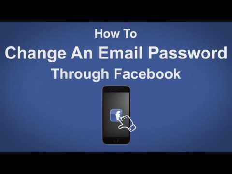 How to Change An Email Password Through Facebook - Facebook Tip #7