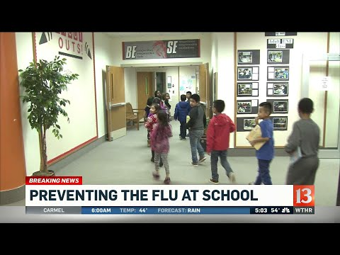 Preventing flu at school