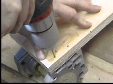 Homemade Bench Top Biscuit Joiner Harbor Freight Modification -Woodworking with Stumpy Nubs #10