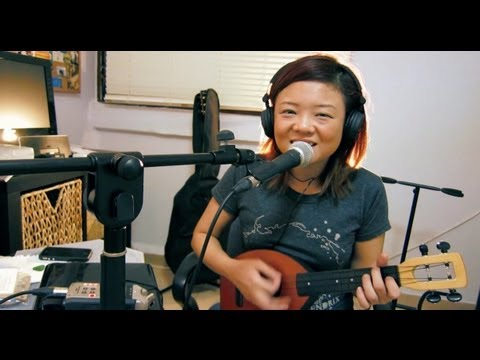 What Makes You Beautiful - Audrey Yap (One Direction Ukulele Cover)