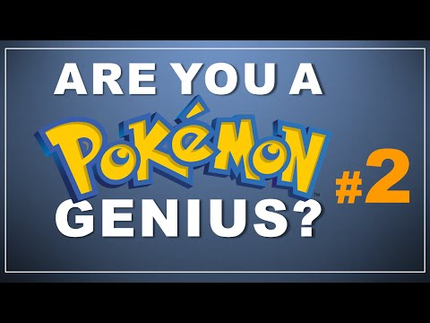 Pokemon Quiz: Guess the Type! (#2 with answers)
