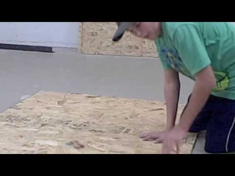 how to build a skate ramp