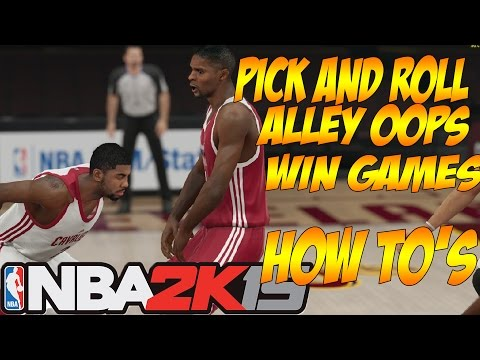 Nba 2k15 | How To Pick And Roll | How To Alley Oop | How To Run Plays | How To Wiin Games