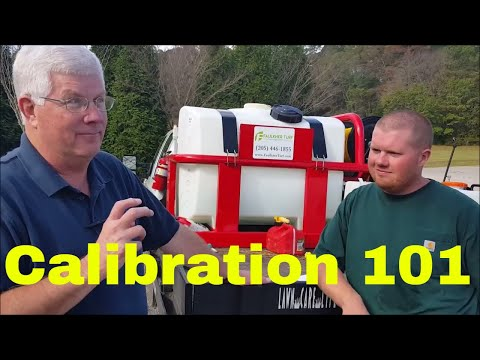 Tank Sprayer Calibration for Weed Control in Lawns