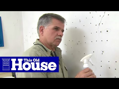 How to Repair Plaster Walls - This Old House