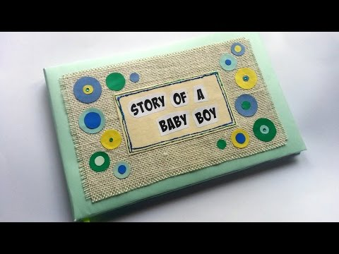 Create a Fun Baby Memory Book - DIY Crafts - Guidecentral