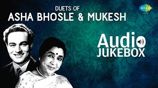 Duets of Asha Bhosle & Mukesh | Popular Old Hindi Songs | Audio Jukebox