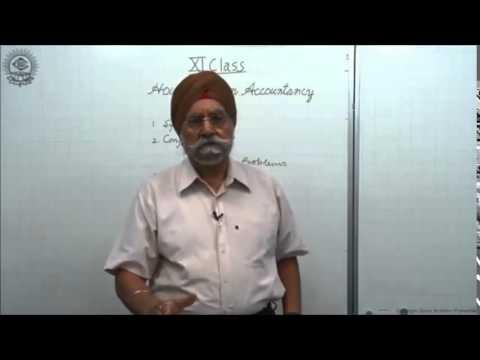 How to Study Accountancy - CBSE Class XI by Dr. Balbir Singh