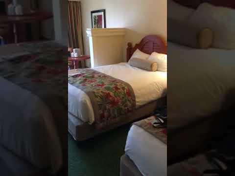 Walt Disney World Shades of Green Resort Room