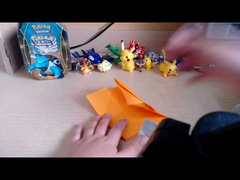 How to make a Pokemon card holder.