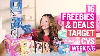 ★ 16 Target & CVS Coupon DEALS & FREEBIES (Week 5/6 – 5/12)