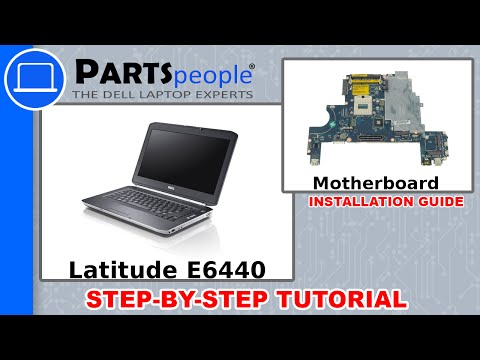 Dell Latitude E6440 Motherboard How-To Video Tutorial