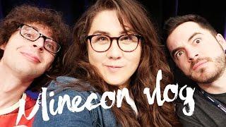 Minecraft Story Mode Ep 1 Pt 1   Minecon vlog!