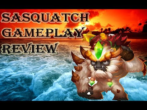 Castle Clash: Devo Sasquatch 11/11 Skills 8/8 Flame Guard Gameplay and Review