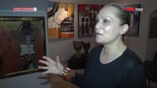 """Выставка Ксении Лавровой """"Музыка африканских красок"""" в рамках фестиваля Gatingo"""