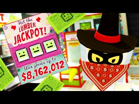 I WON $8,162,012 BUT THEN I GOT ROBBED!?!! (Job Simulator VR HTC Vive)