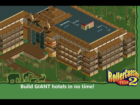 Building Large Structures in RCT2 [Tutorial]