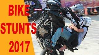 Bike Stunts 2017 | Pulsar Stunts | KTM Stunts | Dio Stunts |Mumbai International Motorshow 2017