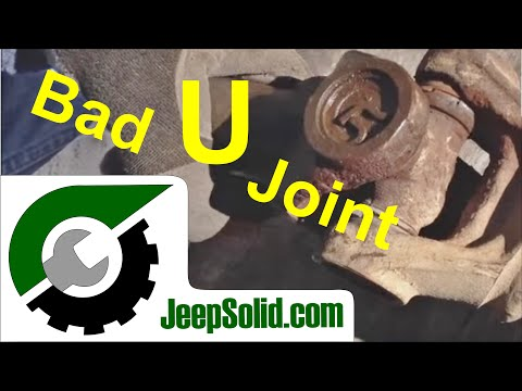 Bad U Joint: replacement u joint by Spicer