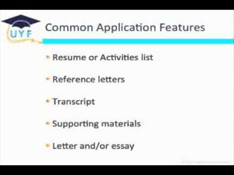 Writing Scholarship Applications - Part 1 - Introduction