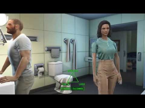 Fallout 4  Character Creation -  Female Body Shapes