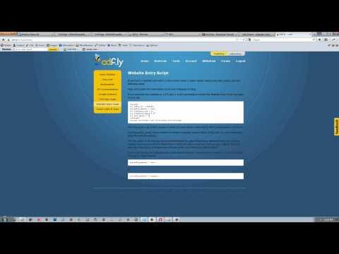 Adf.ly Website Entry Script
