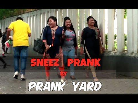 SNEEZ PRANK || PRANK IN INDIA || PRANK YARD