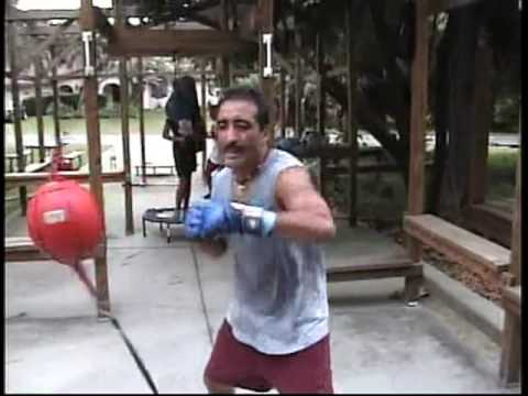Boxing: Home Made Outdoor Gym ! ! !