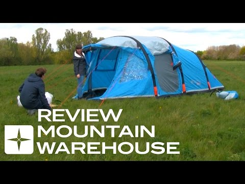 Titan Inflatable 4 Person Tent Review