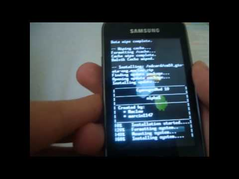 How to Install Jelly Bean (Android 4.1.1) | on Galaxy GIO/Ace