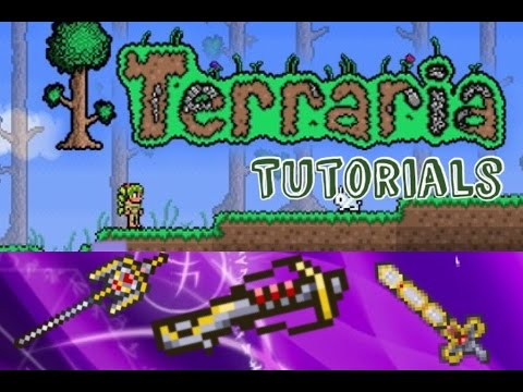 Terraria IOS/Android - hallowed weapons