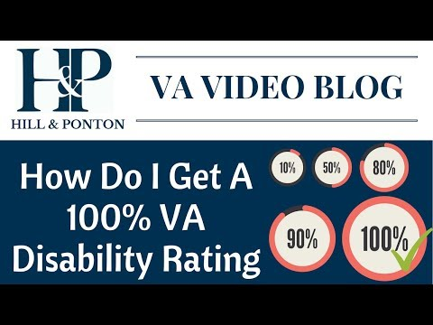 How Do I Get A 100 Percent VA Disability Rating