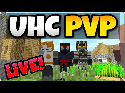 Minecraft UHC PVP Multiplayer - Ultra Hard Core PS3, PS4, Xbox, Wii U Edition Gameplay