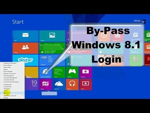 How to Disable Windows 8 login password!! & Windows 8.1- One Free Simple Step