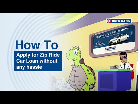 Get Instant car loan with HDFC Bank ZipDrive Instant Car Loan. HDFC Bank, India's no. 1 bank*