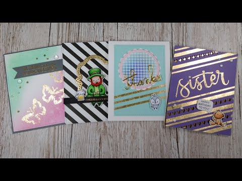 Come Craft With Me - Live Stream - Nuvo Gilding Flakes