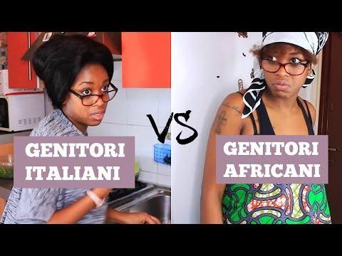 GENITORI ITALIANI VS GENITORI AFRICANI
